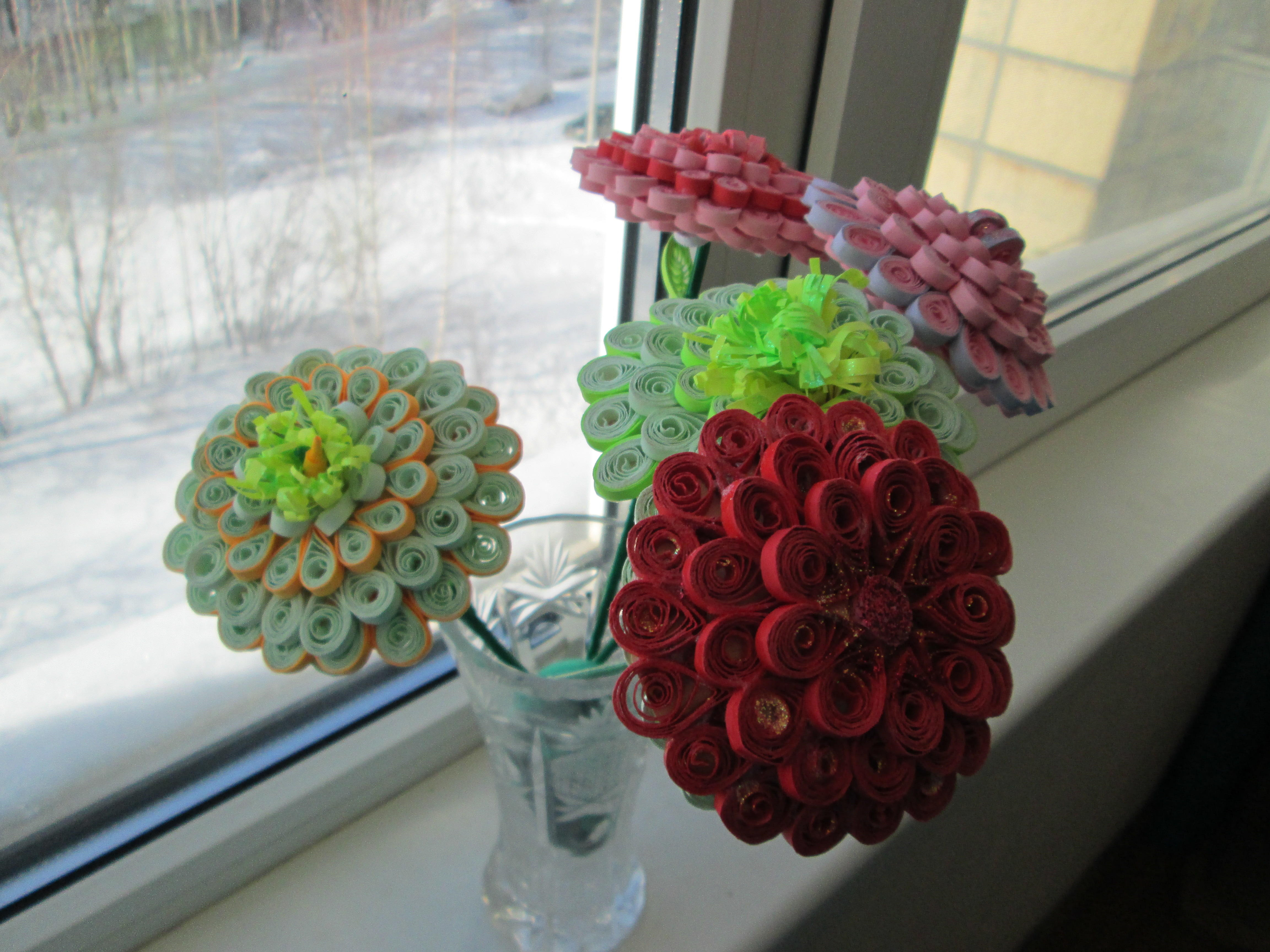 почему вам квиллинг букеты цветов с пошаговым фото процессе выпекания