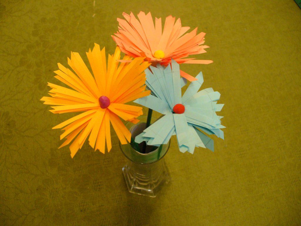 Своими руками гладкий цветок фото 926